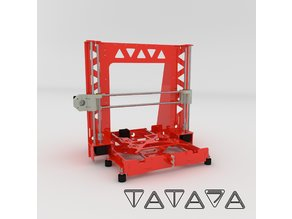 Tatara A8 Steel Frame - Anet A8 Swap it - V1.00