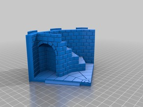 12 sided tower - brick walls and taller
