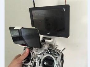 Frsky Taranis X9D+ (Telemetry Monitor Bracket)