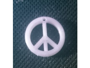 Key Ring Peace sign
