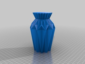 Origami Vase Nr2