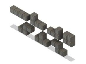 Tetris Magnet Blocks