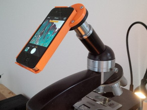 iPhone4 Microscope Holder