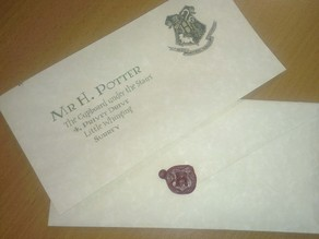 Hogwarts 'H' Wax Stamp
