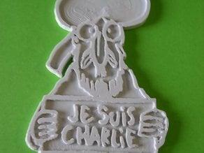 Couverture de CHARLIE HEBDO par LUZ
