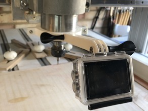 GoPro Mount for CNC Spindle