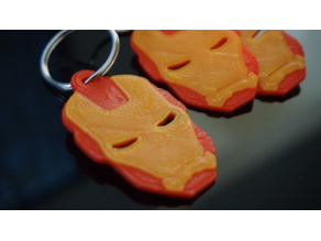 Iron Man Helmet Keychain