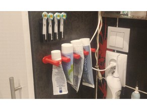 Toothpaste Wall Holder