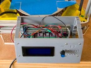 Pi & MKS Gen 1.4 & LCD2004 Controller Case