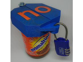 Ovomaltine Jar Cap Lock