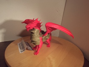 Armored Red Dragon
