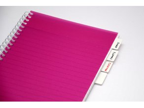 Notebook Organizer - Customizable