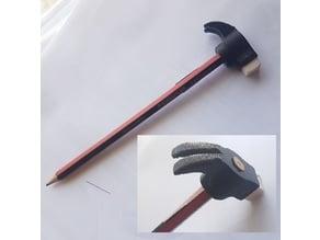 Pencil Hammer Head :-)