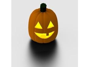 Pumpkin with lid