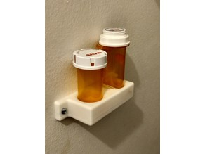Prescription Bottle Shelf