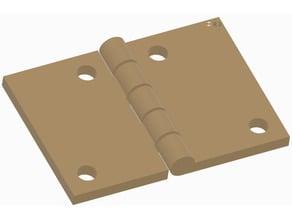 Simple hinge 50mm
