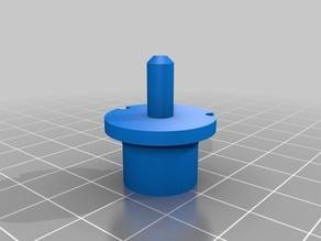 Improved bobbin holder for thread spools