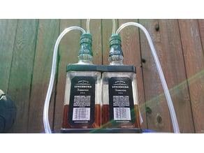 Manifold for DIY bottle Manometer (Updated!)