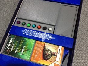 Organizer boxes for Pandemic Board Game
