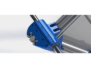 Re-D-Bot 16 mm rod Z axis mod for 2040 on the table V-slot