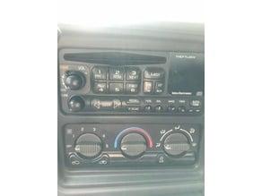 Equalizer knobs for GM radio