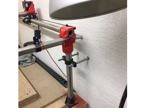 Pipe clamp / holder - OpenSCAD parametrised