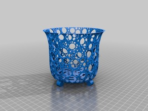 Parametric orchid pot (or general plant pot)