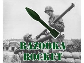 Bazooka Rocket (For Estes Rocket Motors)