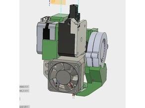 CR10 direct heavy duty mod, titan + v5heatsink+volcano/ or / v6heatsink + pancake motor BETA