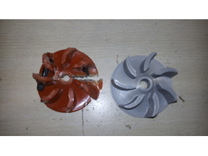 Propeller- Turbine for a Vacuum Cleaner