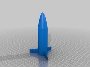 """Model rocket for Estes """"D"""" size engines"""