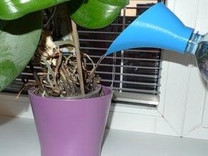 PET bottle watering funnel