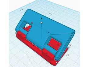 Back plate mount for tube guide QiDi X-One