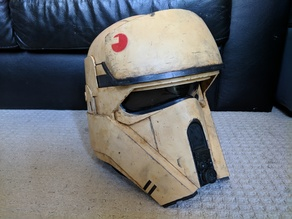 Shore Trooper Helmet V2 (Sean Fields) Split to fit 200x200 build plate