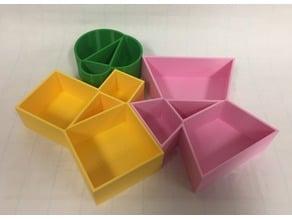 Pythagoras, Pythagorean Theorem, 3D Models, 勾股定理, ピタゴラス定理