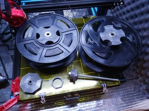 CR-10 Spool Holder for Enclosure