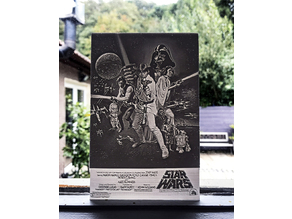 Star Wars Movie Poster Lithophane
