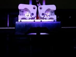 MakingBot replicator 2x flexible extruders
