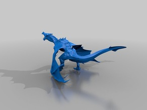 High Poly Skyrim Dragon (Alduin)