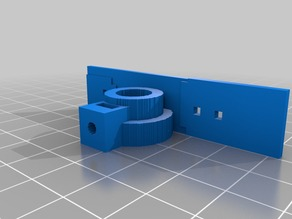 OceanOptics optical fibre mount