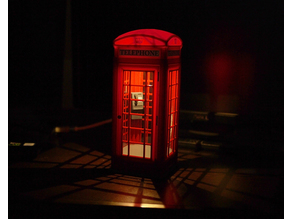 British Phone Booth Mood Lamp