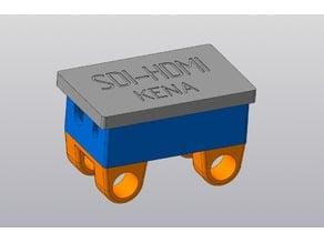 SDI-HDMI Box for 15mm rods