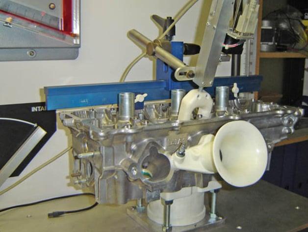 angle john bench job flow racing valve flowbench tech talk test maher