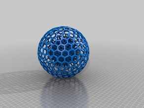 Spike Ball in honeycomb ball