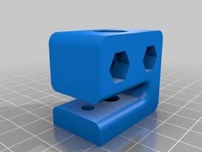 Anti-backlash block for 8mm screw