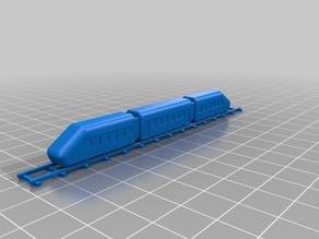 small simple train model