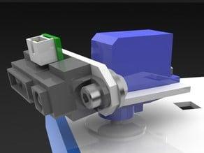 Sharp IR Sensor Servo Bracket