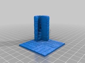 OpenForge 2.0 Mag Wood Floor House Stairwell Up Door Down