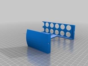 Large calibration object with caliper hooks