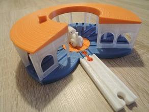 Brio mini: maintenance building